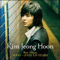 Kim Jeong Hoon Best Album 2000~2005 UN YEARS