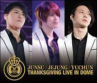 THANKSGIVING LIVE IN DOME LIVE CD【Disc.1&Disc.2】/JYJの画像・ジャケット写真