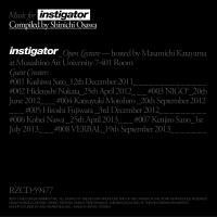 Music for instigator Compiled by Shinichi Osawa/オムニバスの画像・ジャケット写真