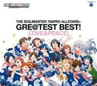 THE IDOLM@STER 765PRO ALLSTARS+ GRE@TEST BEST! -LOVE&PEACE!-/THE IDOLM@STERの画像・ジャケット写真