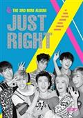 3RD MINI ALBUM:JUST RIGHT