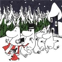 -Joy with Moomin-  Chrstmas Songs for Kids こどものためのクリスマス・ソング・ベ /童謡の画像・ジャケット写真