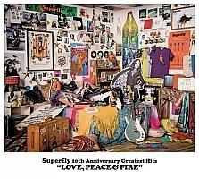 Superfly 10th Anniversary Greatest Hits LOVE, PEACE & FIRE【Disc.1&Disc.2】/Superflyの画像・ジャケット写真